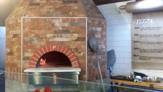Anna's wood fired oven