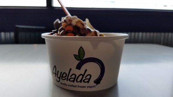 Yogurt cup from Ayelada