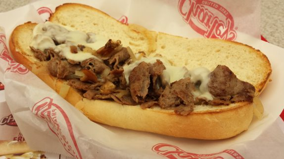 Philly Cheesesteak from Charley's