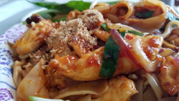 Pad Thai sprinkle of peanuts