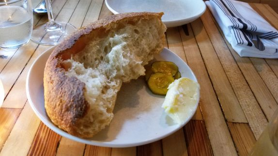 House bread, cultured butter