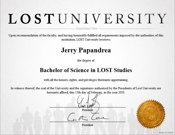 Bachelors Diploma - derryX.com